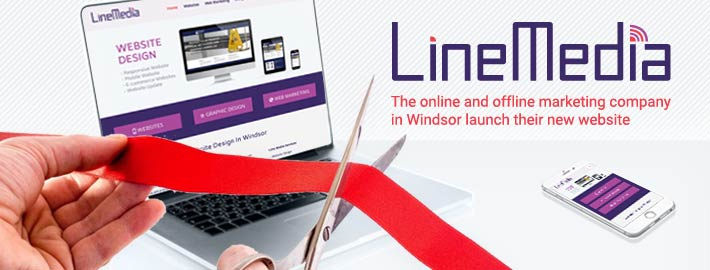 Line Media the website and marketing studio in Windsor, Ontario