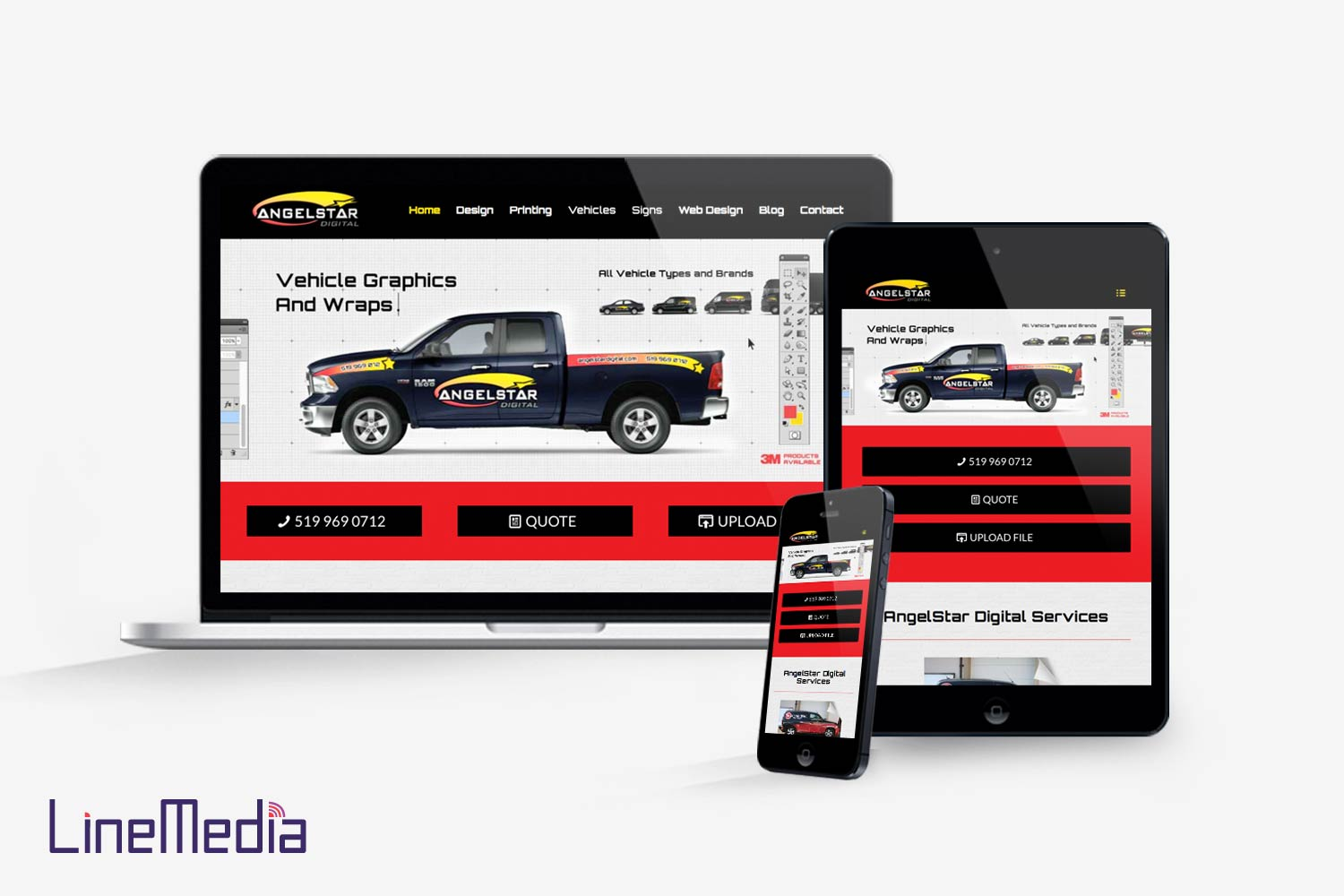 Responsive website design company in Windsor