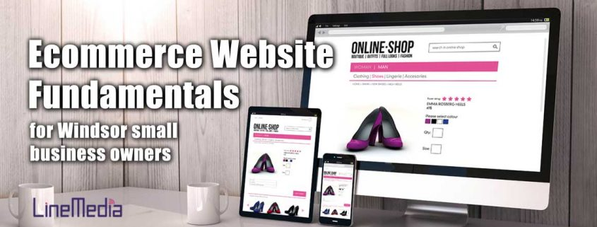 E-commerce website fundamentals for Windsor small business owners
