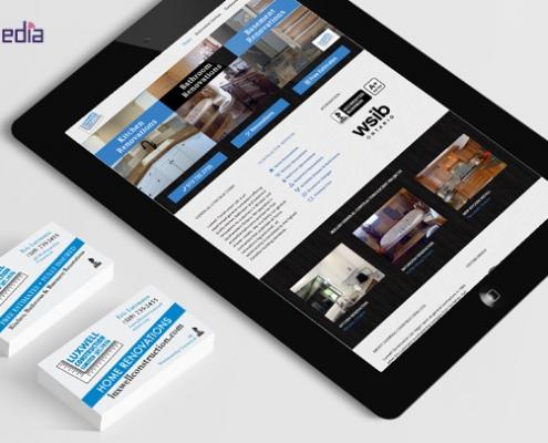 Business card and website designer Windsor, Ontario