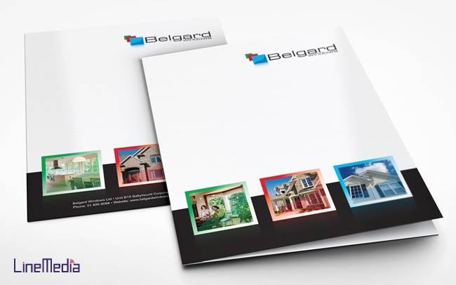 Custom folder design in Windsor, Ontario