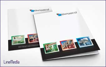 Folder design and printing in Windsor, Ontario