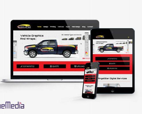 Responsive website design in Windsor