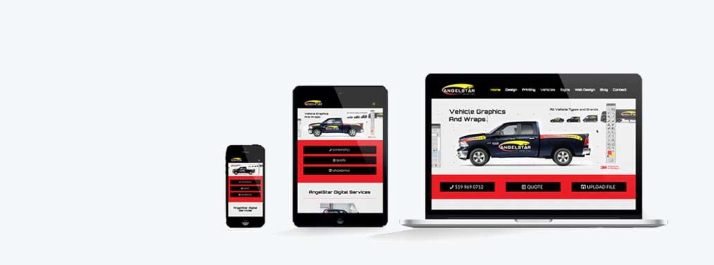 Mobile, responsive website design by Line Media