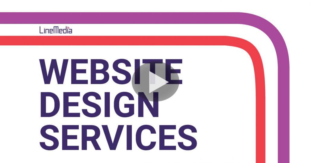 Website design services from Line Media