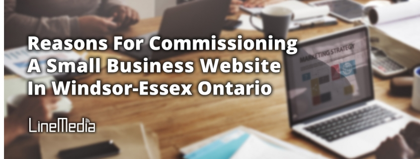 Reasons for commissioning a small business website in Windsor-Essex, Ontario